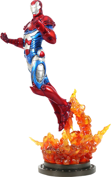 Bowen Marvel Iron Patriot Statue
